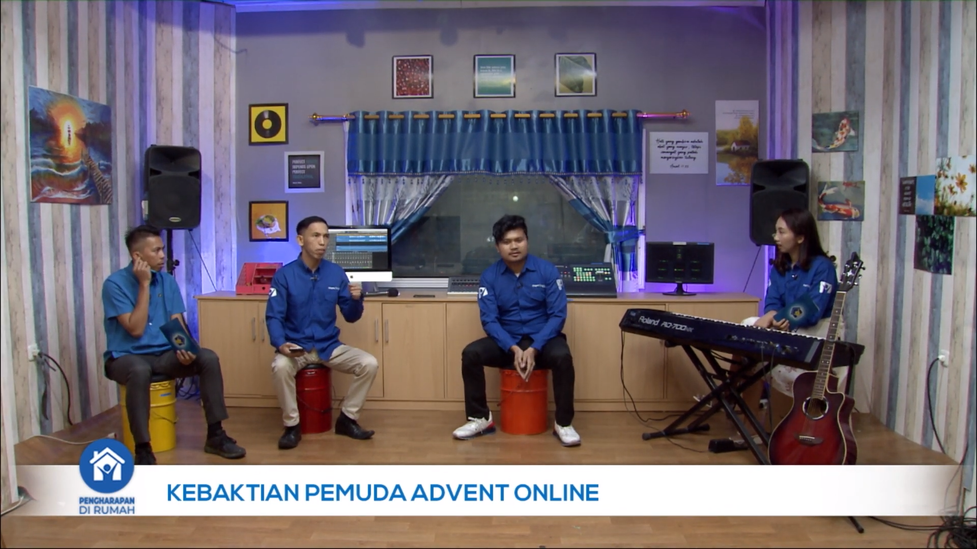 Pemuda Advent - Behind The Scene Hope Channel Indonesia | 15 Agustus 2020